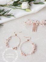 kolczyki LARIA – Wedding Workshop